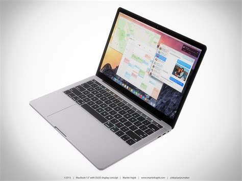 Home Design Software For The Mac by Macbook Pro Concept Shows Oled Touchscreen Fits Perfectly