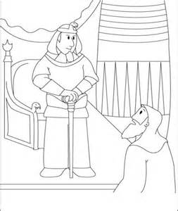 what color was moses free coloring pages of moses pharaoh