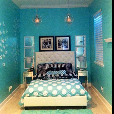 girls blue bedroom tiffany blue girls bedroom dream home pinterest