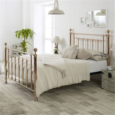 Libra Metal Bed Frame Next Day Delivery Libra Metal Bed Frame From Worldstores Libra Metal Gold Bed Frame Metal Beds Free Delivery Fads
