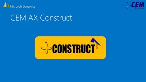Cem Mba Construction Real Estate by Cem Construct Erp Solution For Construction Industry