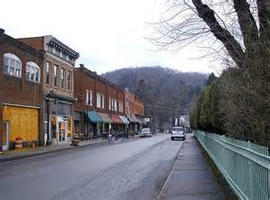 Small American Cities by New Towns Traveling In West Virginia Coal Country
