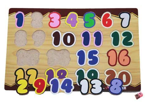 Puzzle Kayu Angka 1 20 puzzle angka 1 20 produsen mainan kayu dan alat peraga