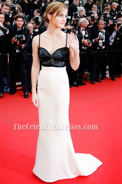 emma watson red carpet dresses emma watson backless formal dress cannes festival 2013 red
