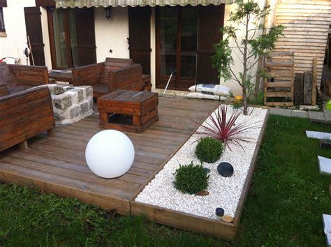 Deco Jardin Exterieur by Am 233 Nagement D Une Terrasse Brasero Bosch