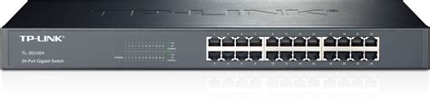 Switch Hub 24 Port Dlink Gigabit by Tp Link 24 Port Gigabit Ethernet Rack Mount Switch