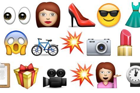 hairstyles emoji how to speak emoji at fashion week beauty blitz