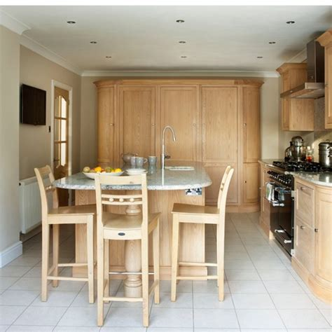 oak kitchen island units oak and kitchen unit with island unit housetohome