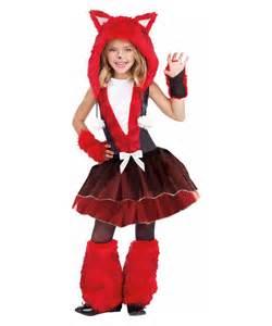 Foxy Costume Foxy And Sly Kids Halloween Costume Fox Animal Costume For Girls