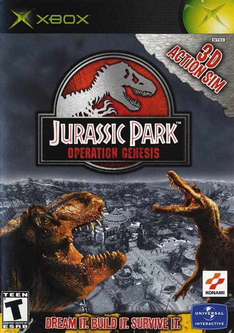 jurassic park operation genesis xbox for sale jurassic park operation genesis xbox