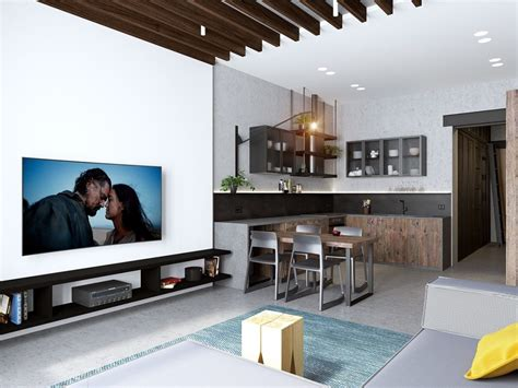 open concept design handsome small apartments with open concept layouts