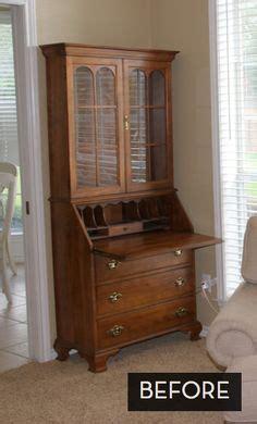 secretary desk for sale craigslist grey painted antique secretary desk with pink interior