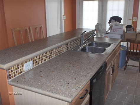 How To Make Concrete Countertops by Building And Installing Diy Concrete Countertops Elly S Diy