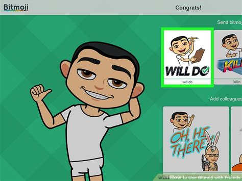8 Useful Friends To by How To Use Bitmoji With Friends With Pictures Wikihow
