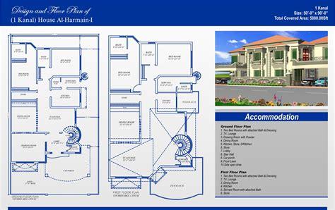 120 Sq Yard Home Design 1 kanal house plans civil engineers pk