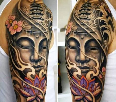 buddhist tattoos for men buddhist ideas common tattoos buddha tattoos and
