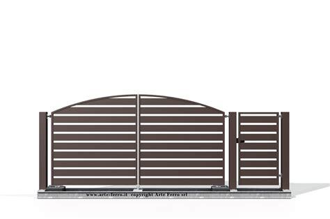 in ferro cancello moderno 506