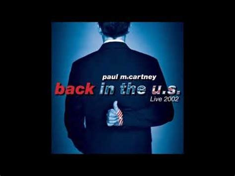 back vanilla sky paul mccartney vanilla sky back in the u s live 2002