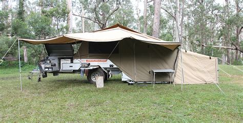 Green Awning Adventure 4wd Camper Trailer Hire Adventure 4wd