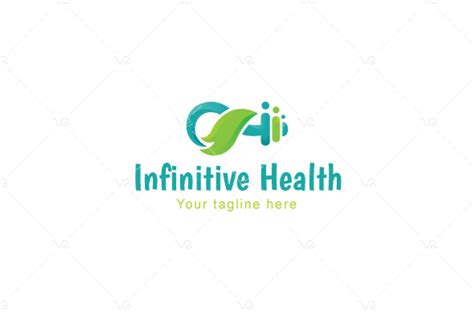 logovenue infinitive health nature fitness stock