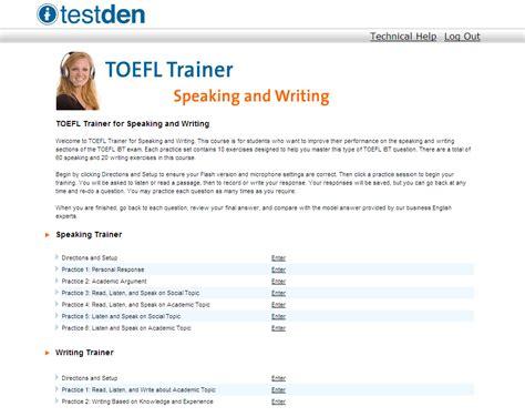 toefl speaking section practice online toefl online course 30 discount