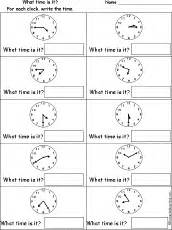 Enchanted Learning Math Worksheets by Telling Time Worksheets Enchanted Learning Free Time To