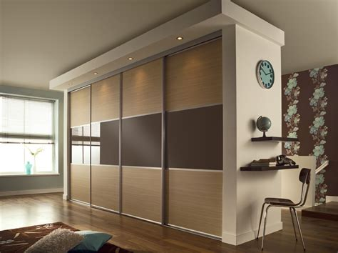Wardrobe Panels sliding wardrobe doors linear style wardrobe doors