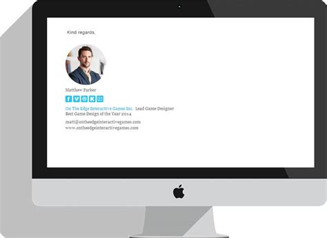 design a html email signature make your own custom html email signature with email