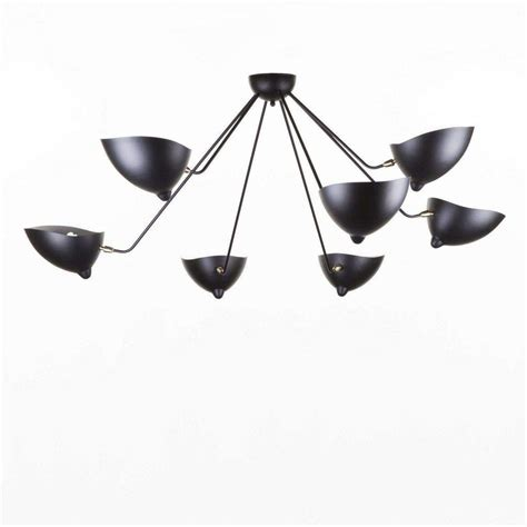 mid century modern reproduction  arm mcl sp spider ceiling lamp inspired  serge mouille