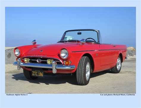 rootes cars of the sunbeam edition cars of the rootes group 2015 calendars