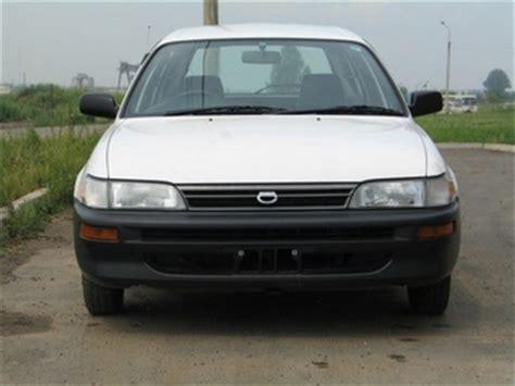 2000 Toyota Corolla For Sale 2000 Toyota Corolla Wagon For Sale 1331cc Gasoline Ff