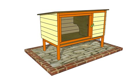 rabbit hutch pattern outdoor rabbit hutch plans thissell abode pinterest