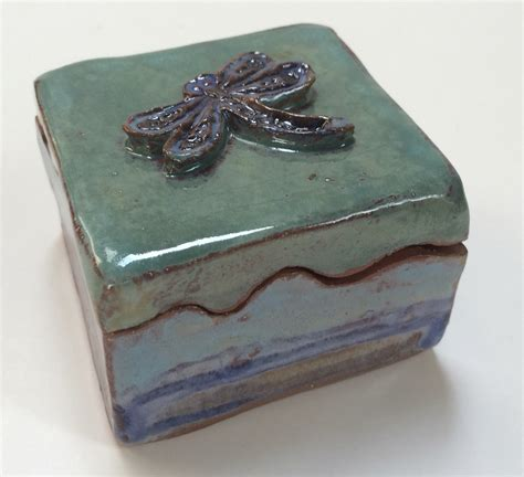Incredible, unique handmade ceramic lidded boxes