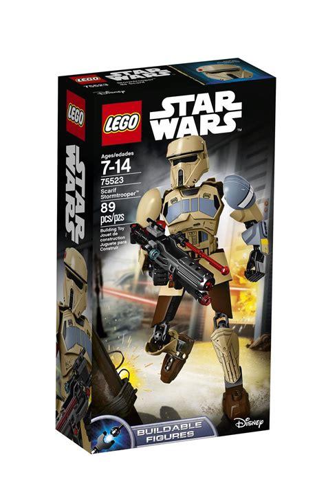 lego wars scarif stormtrooper 75523