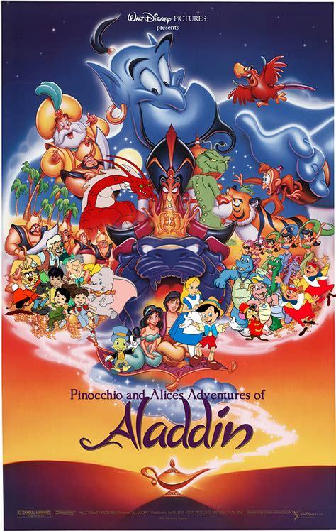 pinocchio  alices adventures  aladdin