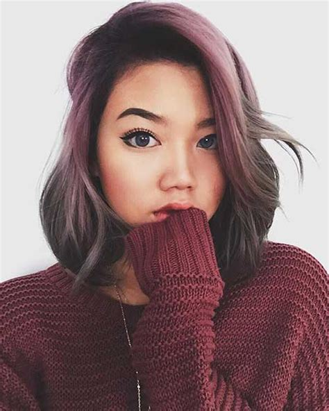 20 Best Long Bob Ombre Hair   Short Hairstyles 2016   2017