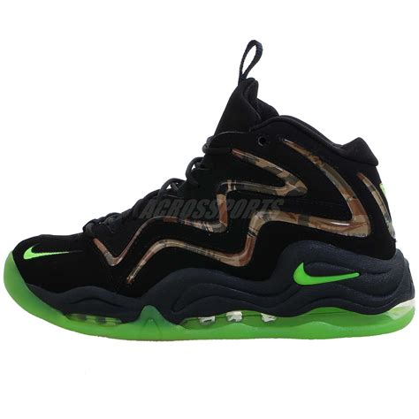 camouflage basketball shoes nike air pippen one 1 camo green 2013 retro mens