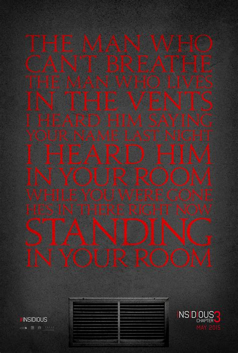 quotes film insidious 3 insidious chapter 3 unveils creepy new teaser poster