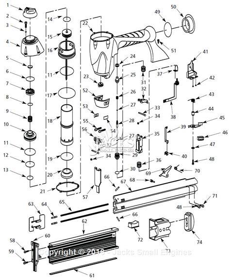 hitachi nail gun parts diagram nail gun diagram 16 wiring diagram images wiring