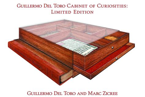 cabinet of curiosities book may138393 guillermo del toro cabinet of curiosities ltd