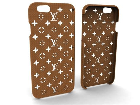 3d printed iphone 6 6s louis vuitton phone by 3dtaichi pinshape