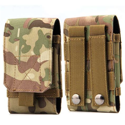 molle loop camouflage pouch molle camo phone bag cover