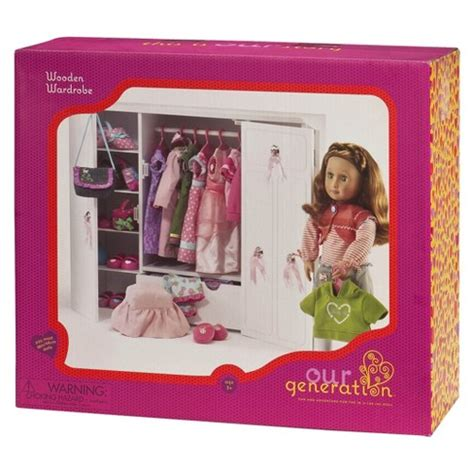 american girl armoire target our generation 174 wooden wardrobe target