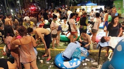 theme park explosion over 500 injured in explosion at taiwan water park cnn com