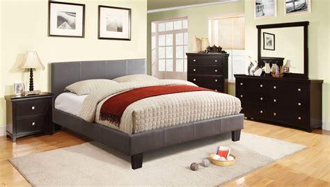 contemporary platform bedroom sets winn park contemporary gray platform bedroom set with