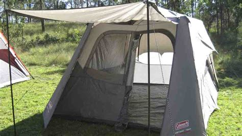 coleman 4 person instant up tent fly review best