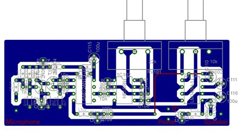 pcb layout work from home bat detector no3 pcb layout