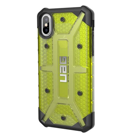 uag plasma for iphone x citron yellow shop and ship south africa