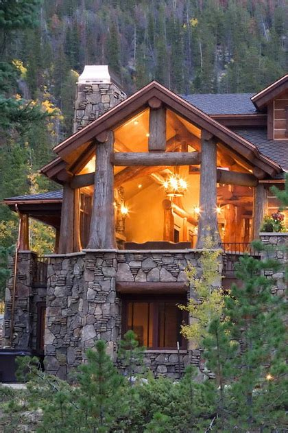 Custom Log Cabin Homes by Edgewood Custom Log Homes Style Estate