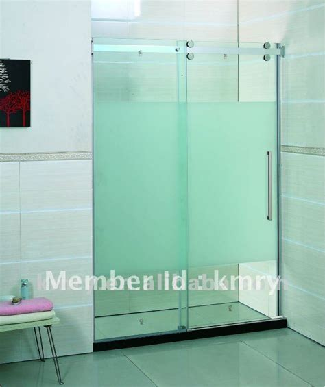 Tempered Glass Shower Door Tempered Glass Sliding Shower Door Kd5313 In Shower Rooms From Home Improvement On Aliexpress